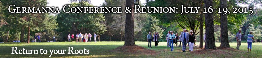 Germanna Foundation 2015 Reunion and Conference